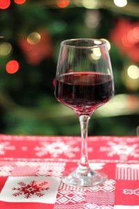 les vins rouges de noël