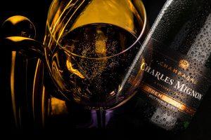 Bouteille de Champagne Charles Mignon
