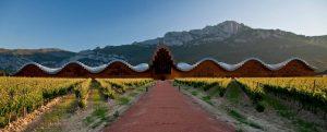 La Bodegas Ysios en Espagne