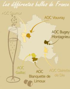 Les différents vins à bulles en France Wine Tour Booking