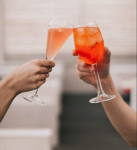 Cocktail vins pétillants Wine Tour Booking