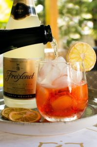 Cava pétillant cocktail Wine