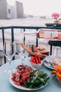 Vins rosés accord met et vin visite château vignoble wine tour booking